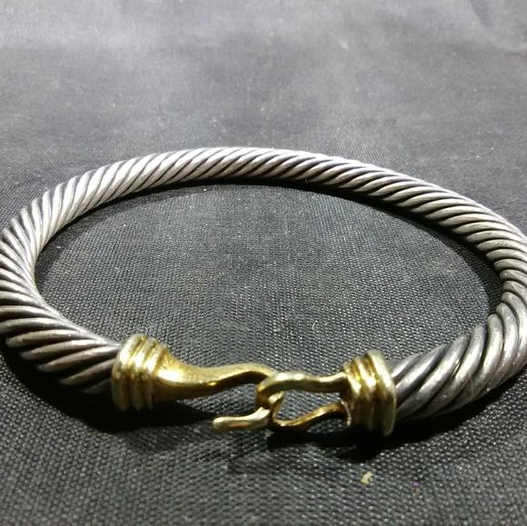 abdababc8e2188 David Yurman Jewelry   Cable Classics Bracelet 14k 925 Ster   Poshmark